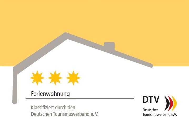 DTV Klassifizierungsurkunde 3 Sterne